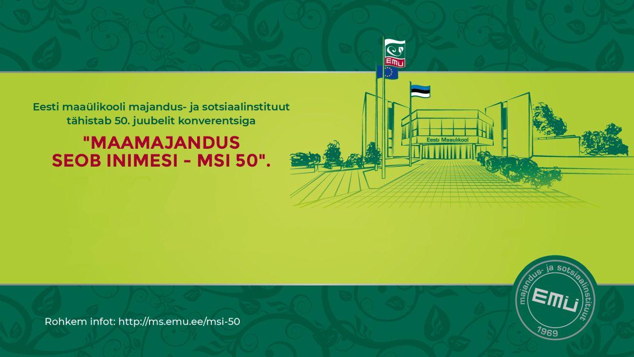 EMÜ MSI 50 konverents